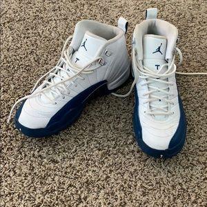 Nike Air Jordan French Blue 12's